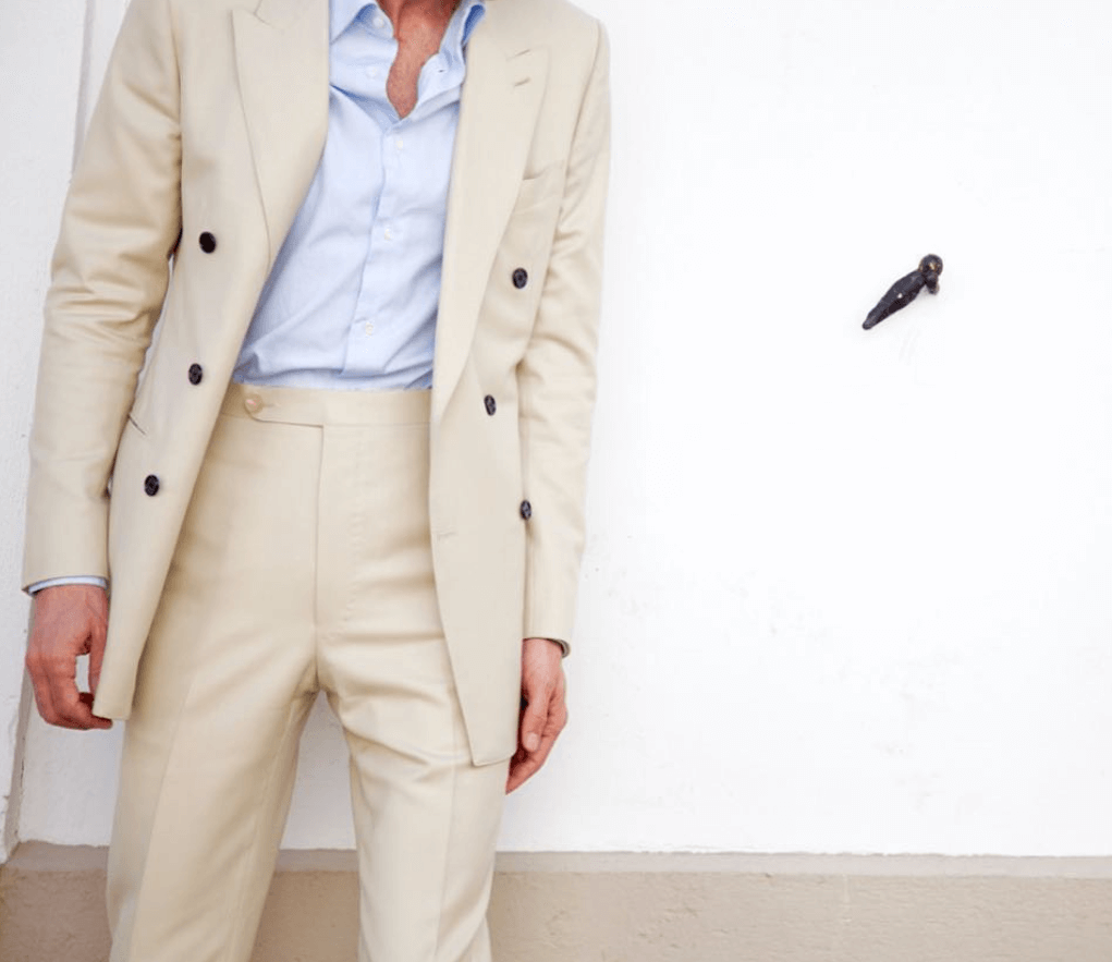 Husdands コットン素材スーツ Jagger