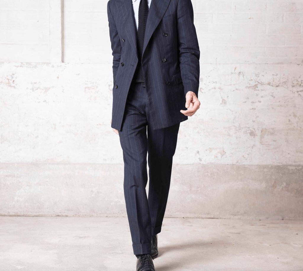Husdands ウール素材スーツ モデルJagger