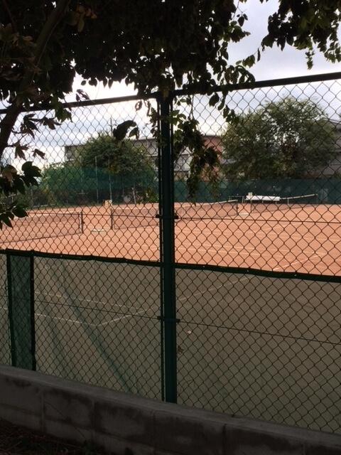 王子動物園近く テニスコート