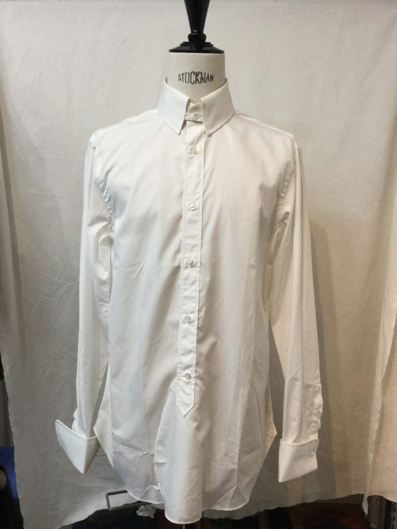 Leys シャツ #Edinbourg タブカラー アトリエ・ゴティエ ハンドメイド製