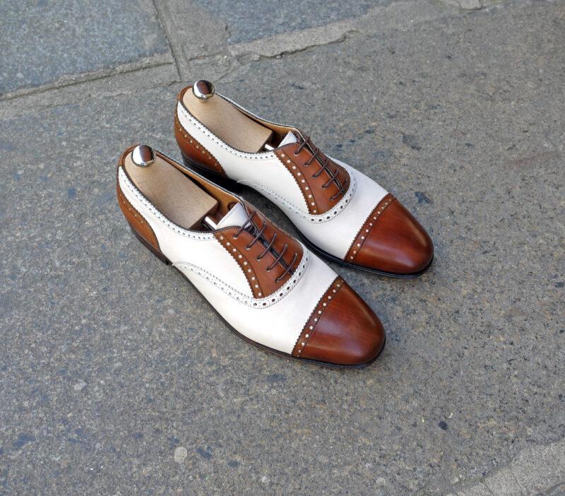 ボロネーゼ製法 BOXカーフの靴