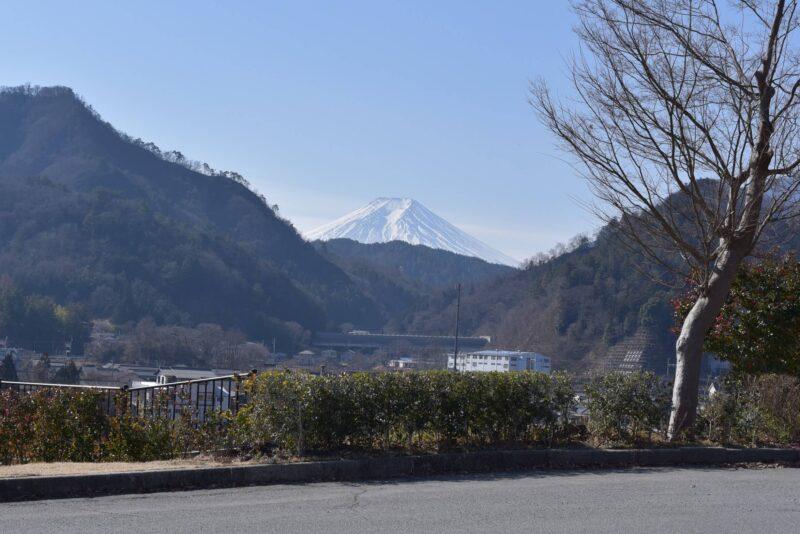 山梨県からみた富士山