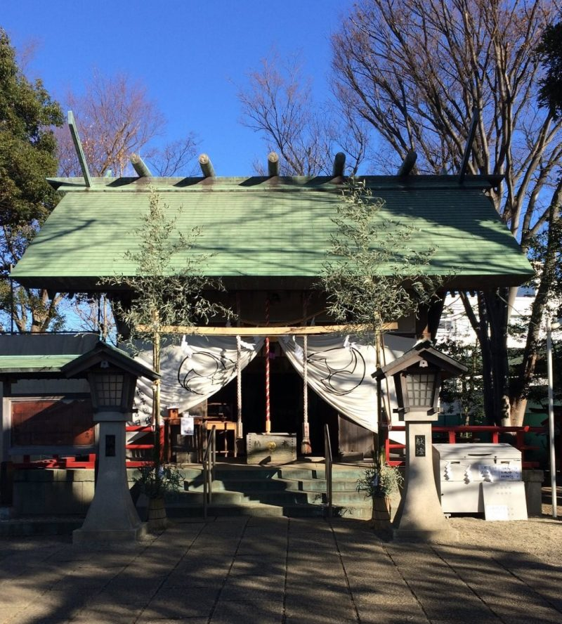 2019年正月 杉山神社本殿