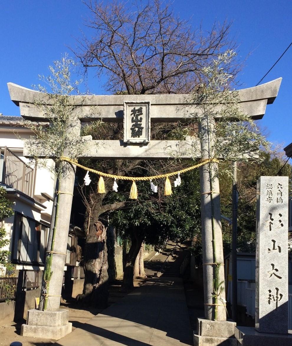 2019年正月杉山神社