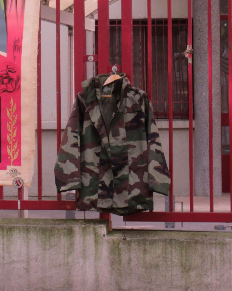 日本で買った迷彩柄ジャケット
