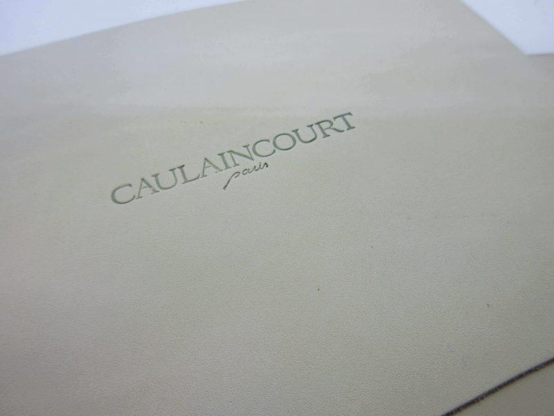 caulaincourt patine用レザー