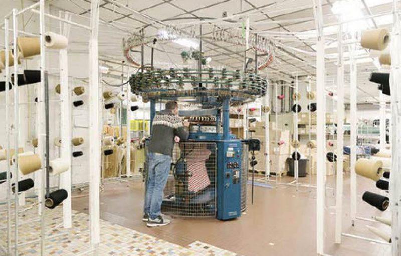 Le Minor 丸編み機械