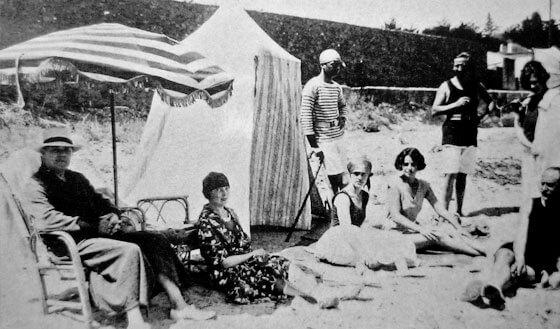 南フランス 昔の夏のバカンス風景
