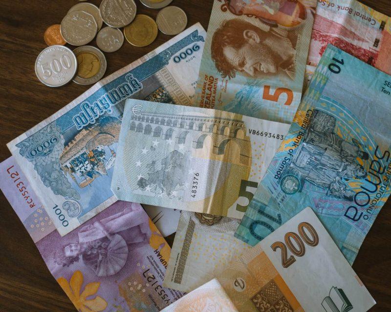 ユーロ紙幣 小銭