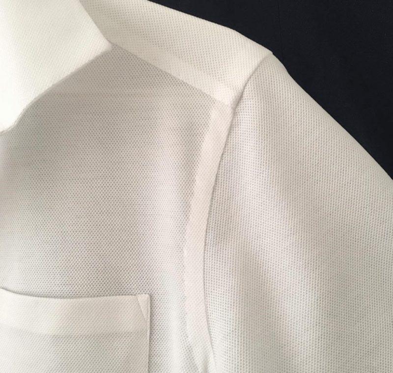 ChatoLufsen ポロシャツ 手縫い袖部分