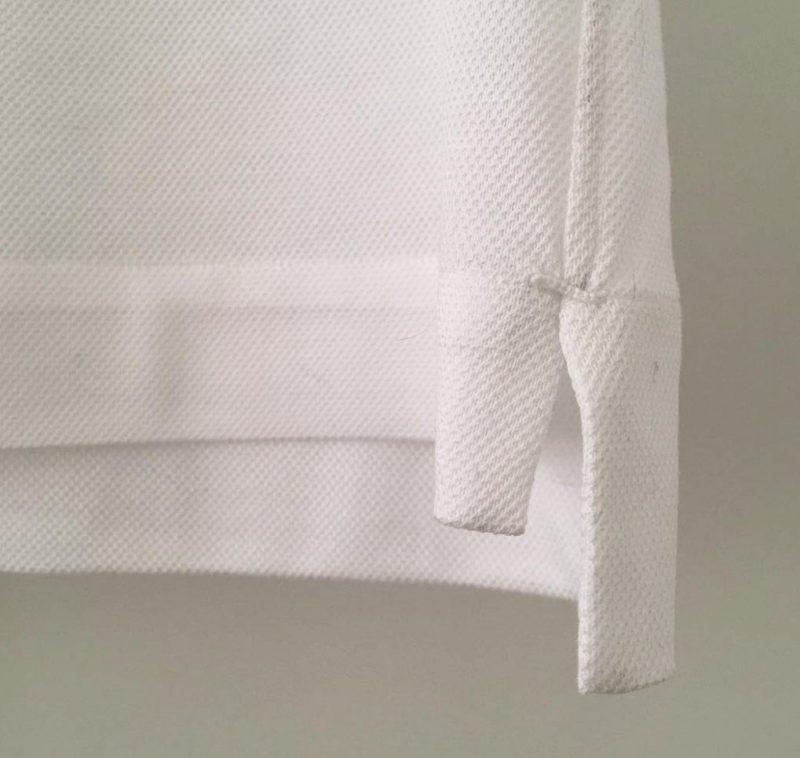 ChatoLufsen ポロシャツ 閂止め