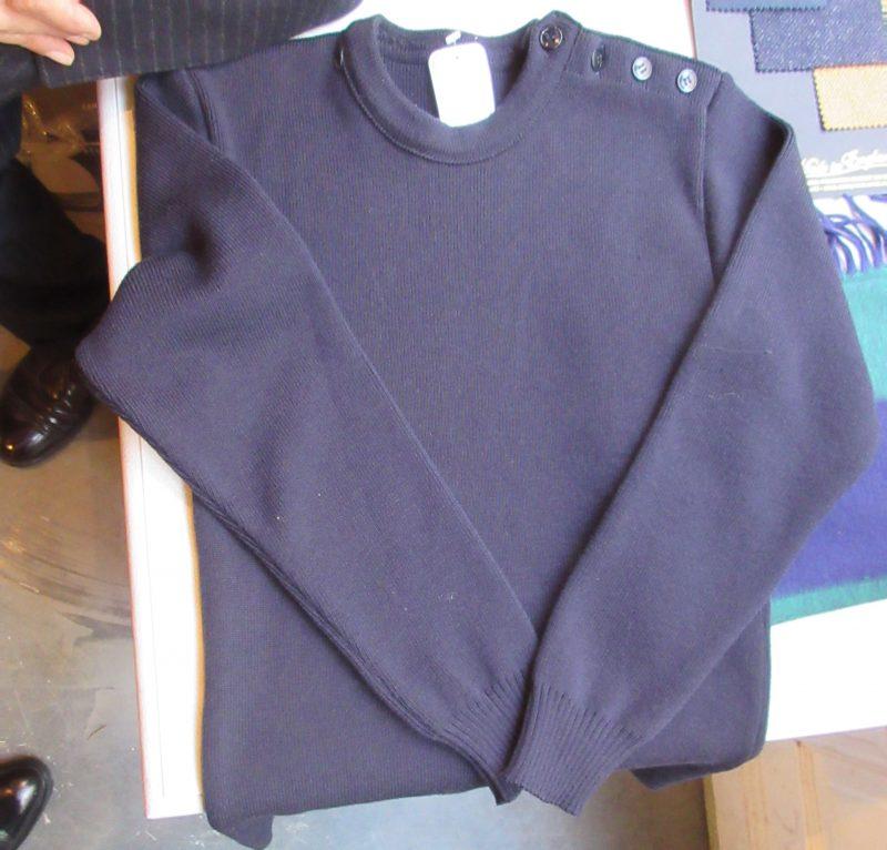 Le Minorが Husdandsに作ったマリンセーター