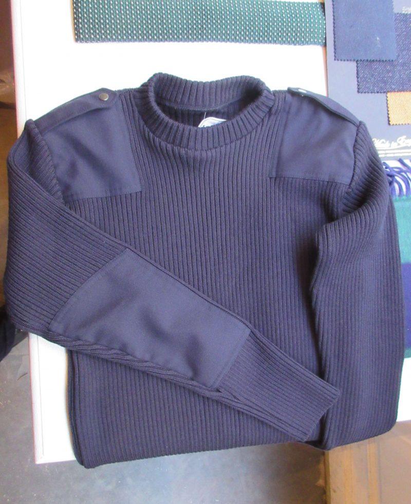 Le MinorがHusdands用に作ったミリタリーセーター