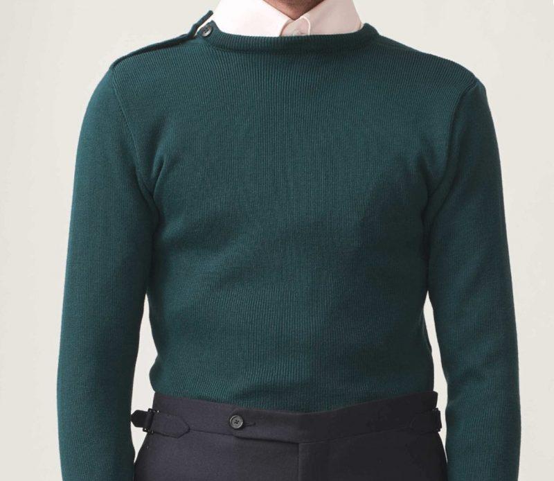 HusdandsがLeMinorで別注したセーター