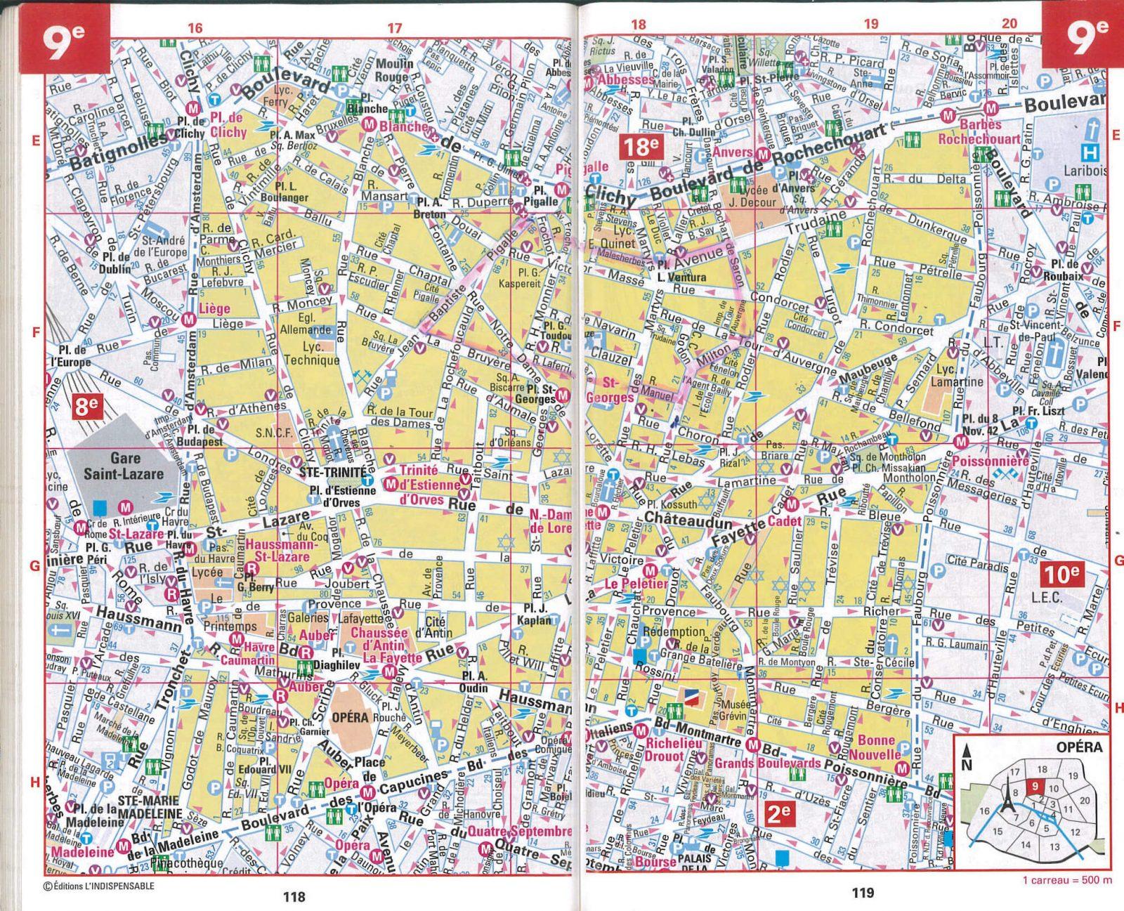 フランス パリ sopi の地図