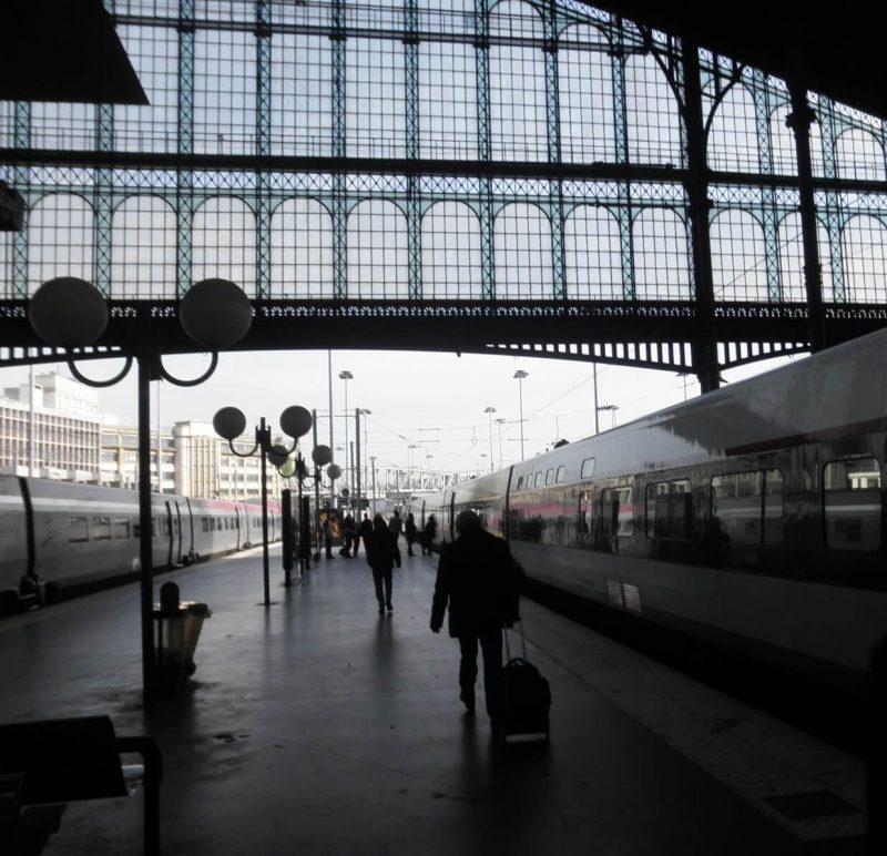フランス TGVホーム