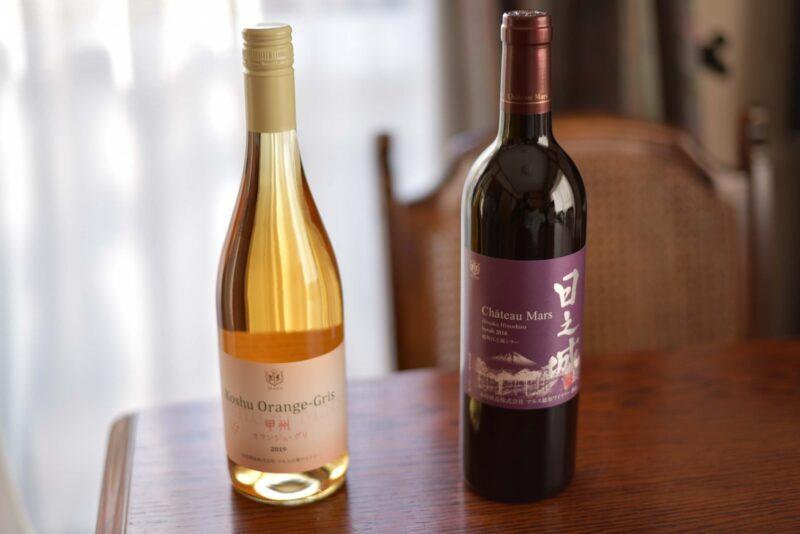 お土産にいただいた甲州ワイン